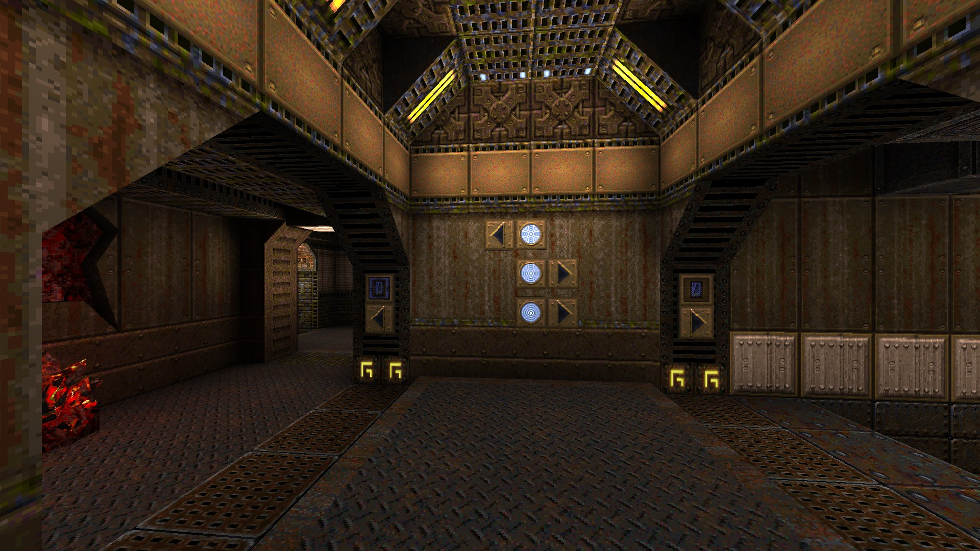 New Quake Map: Root of all Evil: Infernal Science (part 1) - PivotX on